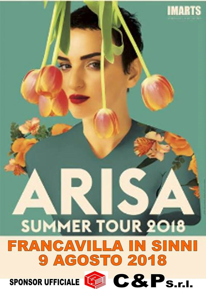 09/08/2018 - Arisa Summer Tour